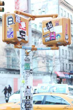 Street Lights ~ NYC.
