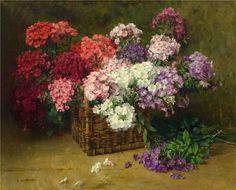 #Художник Clara von Sivers (1854-1924) Клара фон Сиверс в Пиннеберге, в 1854 году, в районе Германии, который в те времена был известен, как центр цвет... - Inna Sh - Google+