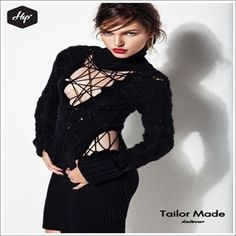 #Hip #Hipyourteez #Tailor_Made #Knitwear #Limited #Womens #Dresses #New #Collection #Aw13_14 #New_In New Face, Knitwear, Fashion Jewelry, Dresses With Sleeves, Chic, My Style, Long Sleeve, Postcards, Greece