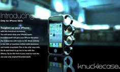 iPhone knuckle case can anti-theft and self-defense-01