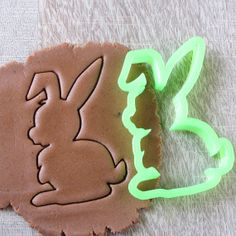 Rabbit cookie cutter 5 by LubimovaCookieCutter on Etsy, $6.00