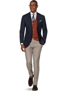 Jacket Blue Plain Hudson C839h | Suitsupply Online Store