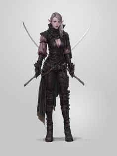 2017 personal work elf woman, Sungryun Park on ArtStation at https://www.artstation.com/artwork/n52z1