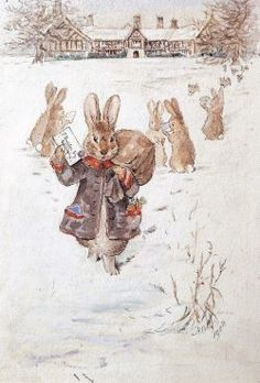Beatrix Potter -Christmas Greetings | Beach Victory