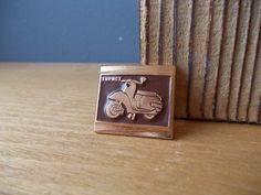 SCOOTER Pin / Vintage Pin / Soviet Badge / Retro by EUvintage