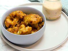 The Kitchen of Happiness - Wings de chou-fleur & sauce au saté - The Kitchen of Happiness