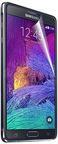 RND 4 Screen Protectors for Samsung Galaxy Note 4 (Anti-Fingerprint/TwoAnti-Glare Matte Finish and Two Crystal Clear- Gloss #rnd #wirelessphoneaccessory