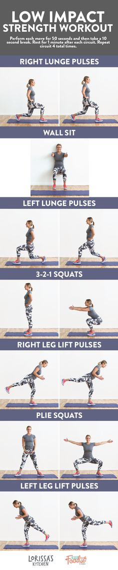 Looking for a low-impact workout? Try this 32-minute low impact strength workout that will fatigue your  muscles and leave you shakey! These exercises are great for pregnant mamas, injury recovery, and anyone who wants a good burn.