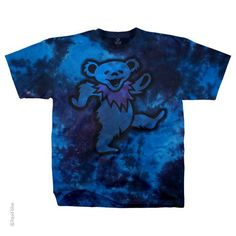 Grateful Dead Big Bear Tie Dye Tee