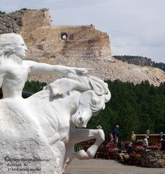 "10/5/14 Team One Spirit competed in the marathon relay ""Run Crazy Horse"" at the Crazy Horse Monument."