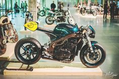 Triumph Daytona Cafe Racer by ExtremeWorkshop #motorcycles #caferacer #motos | caferacerpasion.com