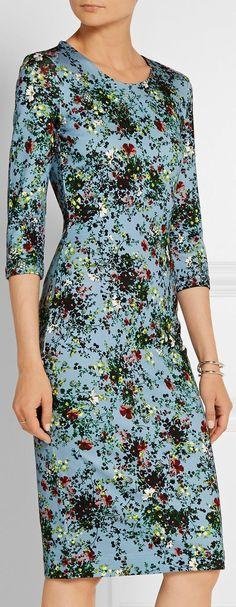 'Allegra' Floral Print Dress