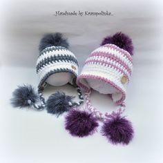 Kulišanka pro miminko. S návodem – Krampolínka Winter Hats, Crochet Hats, Cap, Knitting, Fashion, Knitting Hats, Baseball Cap, Moda, Tricot