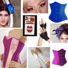 Halloween Costume Effie Trinket Hunger Games Capitol Fashion Makeup Corsets Hats - Great Compilation of ideas for Effie Trinket Halloween costume!