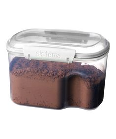 Take a look at this White 1.5-L Bakery Container & Scoop today!