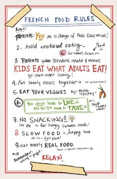 A CUP OF JO: Motherhood Mondays: French Kids Eat Everything