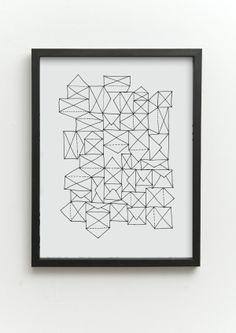 one must dash / art prints