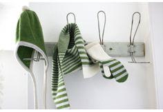 Hat scarf gloves set for children - Mini McGhee