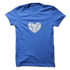 The Baseball Heart Tee
