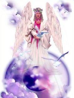 Beautiful Heavenly Angel Ecard