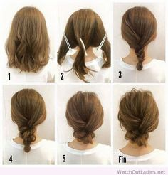 How to do a braid low bun