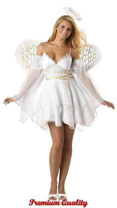 Heavenly Angel Costume - Sexy Costumes