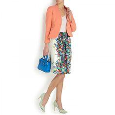 Wool crepe jacket, New In Women, Harvey Nichols Store View