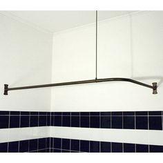 Problem Solvers 10 Uniquely Shaped Shower Curtain Rods