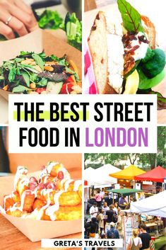 Best Street Food In London: Camden Market, Borough Market & More! - The Best Street Food Markets in London. London Street Foods That Will Change Your Life Street Food London, Street Food Market, Best Street Food, London Food, Grab Food, Yummy Ice Cream, Foodie Travel, Places To Eat, London Travel