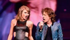 """Atención fans del rock: Mick Jagger y Taylor Swift cantaron """"Satisfaction"""" juntos en el escenario"""