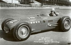 Indy 500 winner 1953: Bill Vukovich  Starting Position: 1  Race Time: 3:53:01.690  Chassis/engine: KK500A/Offy