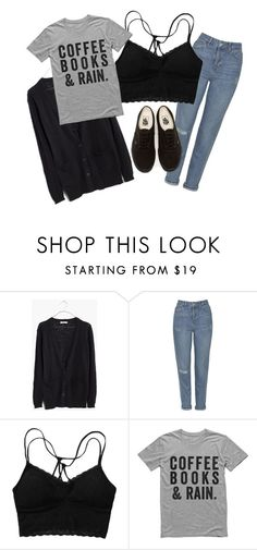 """Untitled #50"" by aelgreen-1 on Polyvore featuring Madewell, Topshop and Vans"