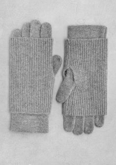 double layered gloves who'd a thought?