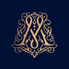 M - monogram Graphic Design Branding, Typography Design, Logo Design, Tolle Logos, Typographie Logo, M Monogram, Wedding Logos, Typography Letters, Letter Logo