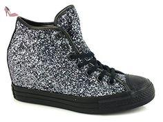 Converse , Baskets pour femme Brunito/Black/Thunder, argento eu - - Brunito/Black/Thunder, argento, eu EU - Chaussures converse (*Partner-Link)