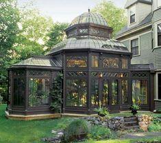 47 Top Backyard Gazebo Design Ideas - Modul Home Design Hot Tub Gazebo, Backyard Gazebo, Garden Gazebo, Garden Paths, Patio, Outdoor Gazebos, Outdoor Rooms, Cabana, Diy Design