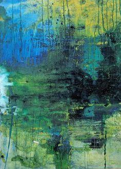 """Saatchi Art Artist Johann Nußbächer; Painting, """"silence waters 5"""" #art"""