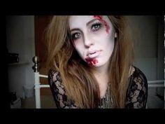 ★ Glamorous Zombie - A Halloween Tutorial ★ - YouTube