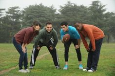 New Girl- I want this to be my life after I graduate. I think I have my three guys picked out too <3