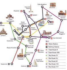 Turismo-Roma-Mapa