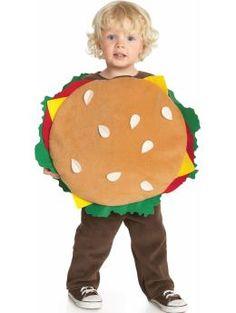 Mini hamburger costume