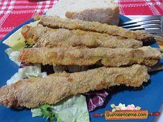 Arrosticini di maiale panati al forno - Gustose ricette di cucina