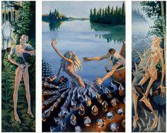Sirpa Alalääkkölä: Aino-triptyykki, 1988