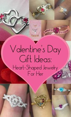 Looking for a little gift-giving inspiration for Valentine's Day? We'll let you in on a little secret: you can't go wrong with jewelry! See some of our top picks of cute heart shaped styles for your Valentine.