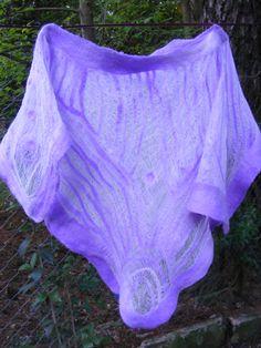 Poncho de verano Gasa de algodón y lana merino