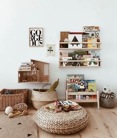 Exciting and Creative Kid's Playroom Ideas – Voyage Afield Playroom Decor, Baby Room Decor, Nursery Room, Kids Bedroom, Ikea Kids Room, Ikea Nursery, Boho Nursery, Bedroom Decor, Wall Decor