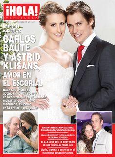 La primera portada de ¡HOLA! Venezuela tuvo el placer de tener en ella a los recién casados: Carlos Baute y Astrid Klisans. Sin duda, una boda de ensueño que reunió a los venezolanos más famosos del mundo.