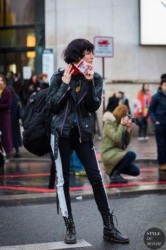 Heather Kemesky Street Style Street Fashion Streetsnaps by STYLEDUMONDE Street…