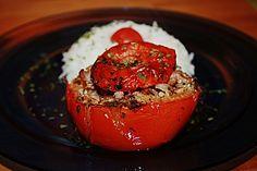 Gefüllte Tomaten mit Hackfleisch (Rezept mit Bild) | Chefkoch.de