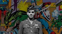 Jack Kirby—co-creator of the Marvel Universe and big chunks of DC's—remains one of the most influential writer/artists in the history of comics. Many of Kirby's works involve the fight against fascism, embodied in characters such as Doctor Doom and the Red Skull. This wasn't just an imaginary battle for Kirby, who killed Nazis in World War II and was ready to throw down with any fascists he encountered stateside.